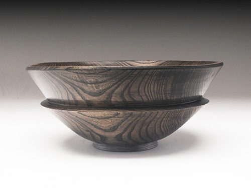 Siberian Elm Ebonized Bowl