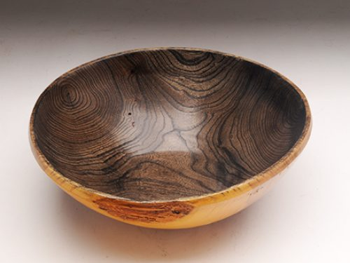 Siberian Elm Two-Toned Bowl